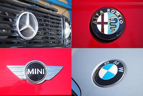 輸入車ロゴ